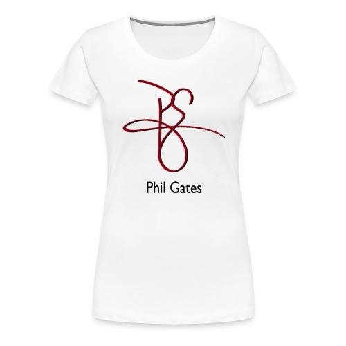 Phil Gates Ladies Tee - Women's Premium T-Shirt
