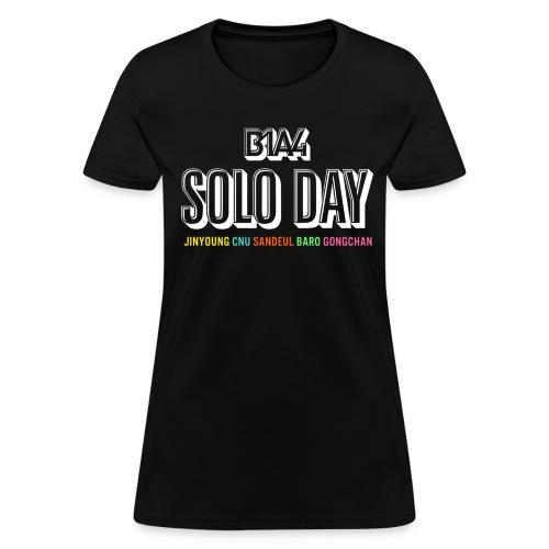 SoloWhiteCNFemale - Women's T-Shirt