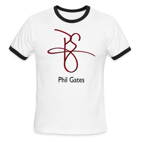Phil Gates Ringer Tee - Men's Ringer T-Shirt