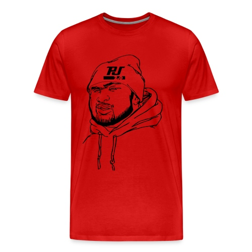 PJ Sketch Tee (S-5XL) - Men's Premium T-Shirt