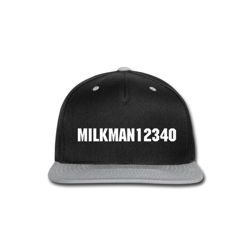 Milkman12340 Hat - Snap-back Baseball Cap