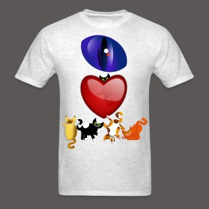 EYE LOVE CATS - Men's T-Shirt