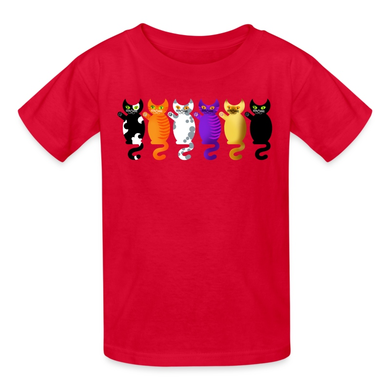 CATS X 6 - Kids' T-Shirt