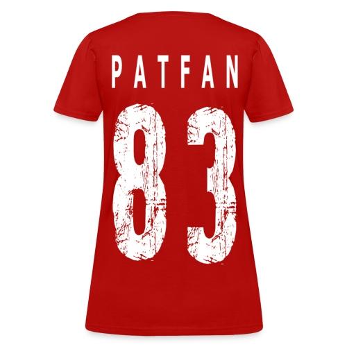 Women's JT Patfan Jersey Shirt - Women's T-Shirt