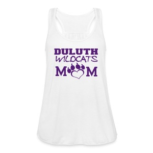 Glitter Duluth Wildcats Mom tank  - Women's Flowy Tank Top by Bella