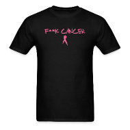 T-Shirts ~ Men's T-Shirt ~ Mens Fuck Cancer