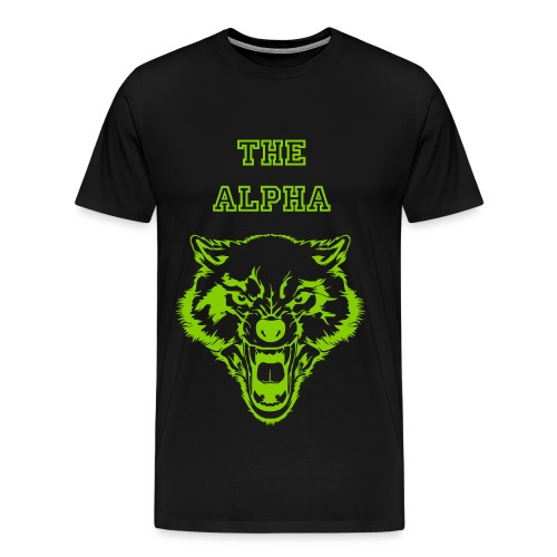 The Alpha - Men's Premium T-Shirt