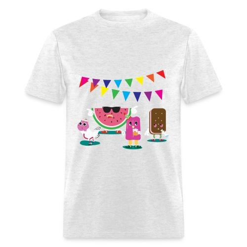 FOOD PARTY T-SHIRT - Men's T-Shirt