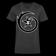 T-Shirts ~ Men's V-Neck T-Shirt by Canvas ~ SWARM Outline Logo V-Neck