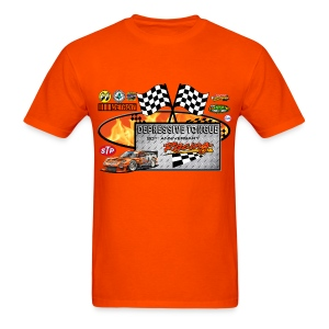 Depressive Tongue Racing T-Shirt - Men's T-Shirt