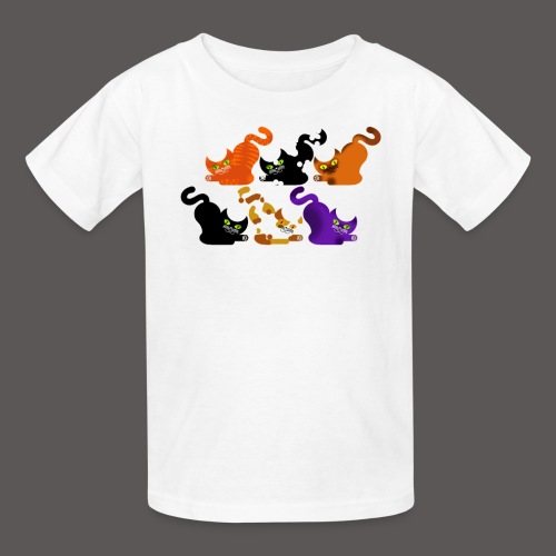 CAT POUNCE - Kids' T-Shirt
