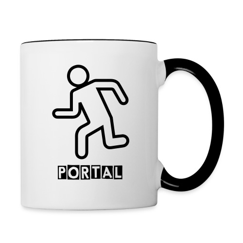 Portal Coffee - Contrast Coffee Mug