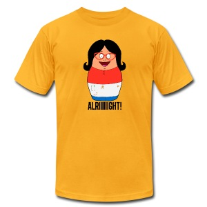 Alriiiight  - Men's T-Shirt by American Apparel