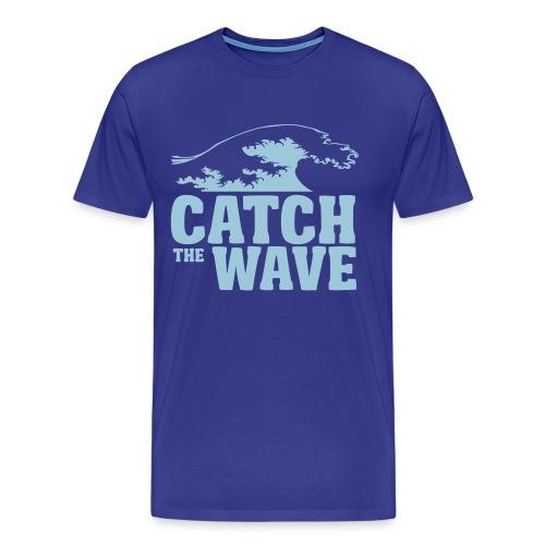 Catch the wave - Men's Premium T-Shirt