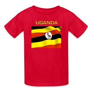 Ugandan Flag T-Shirt For Kids - Kids' T-Shirt