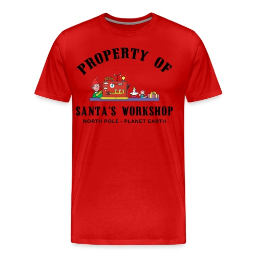 Santa's Workshop Tee - Men's Premium T-Shirt