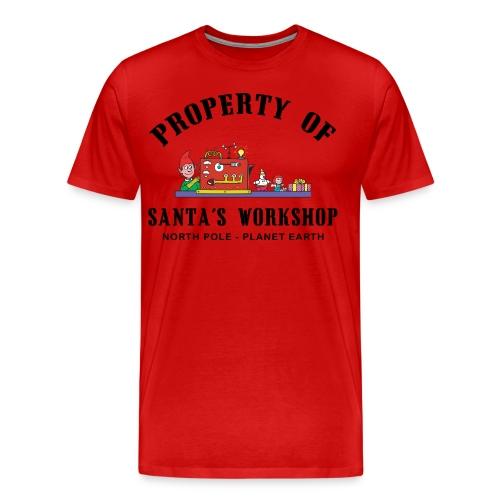 Santa's Workshop Tee - Men's Premium T-Shirt