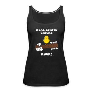 RE Chicks Rock Premium - Women's Premium Tank Top