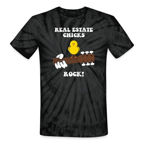 RE Chicks Rock Tie Dye - Unisex Tie Dye T-Shirt