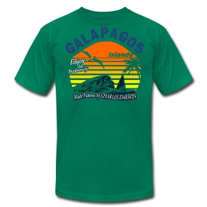 Galapagos Islands t shirt - Men's T-Shirt by American Apparel
