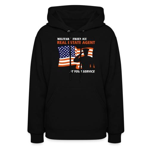 Military Friendly Hooded Sweat - Women's Hoodie