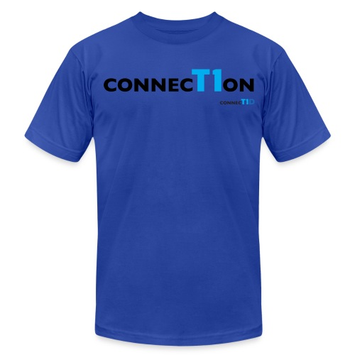 ConnecT1on T Shirt - Men's Fine Jersey T-Shirt