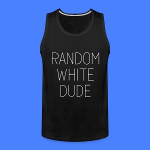 Random White Dude Men - Men's Premium Tank