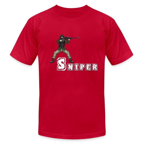 BFFs - Sniper - Men's Fine Jersey T-Shirt