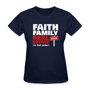 Faith Family RE Tee - Women's T-Shirt