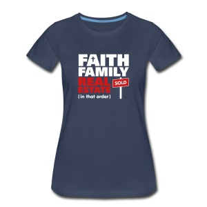 Faith Family RE Premium - Women's Premium T-Shirt
