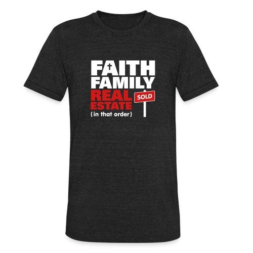 Faith Family RE Unisex - Unisex Tri-Blend T-Shirt