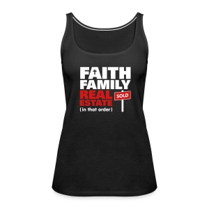 Faith Family RE Premium - Women's Premium Tank Top