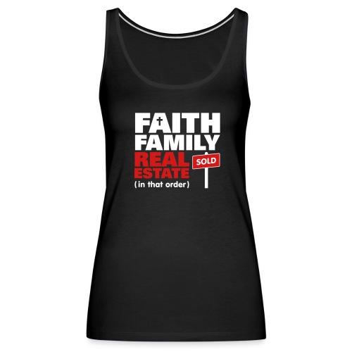 Faith Family RE Premium - Women's Premium Tank Top