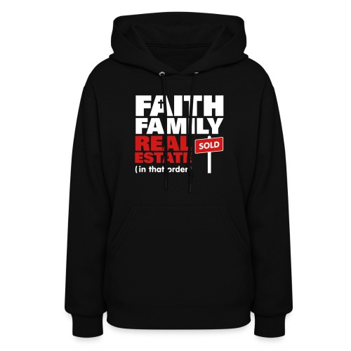 Faith Family RE Hood Sweatshirt - Women's Hoodie