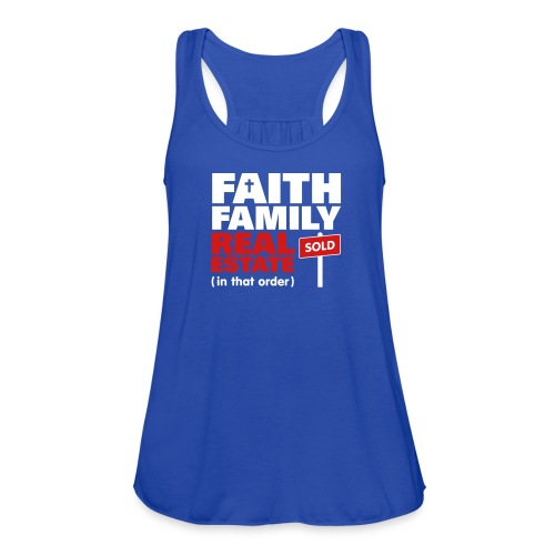 Faith Family RE Flowy - Women's Flowy Tank Top by Bella