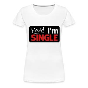 Single - Women's Premium T-Shirt