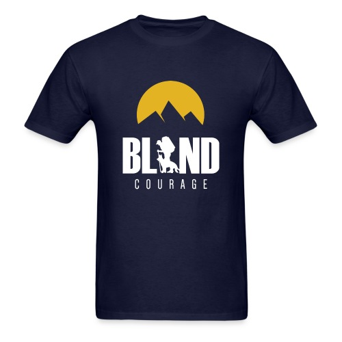 Blind Courage - Men's T-Shirt