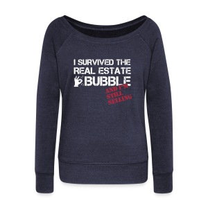 Survived the Bubble Wide Sweatshirt - Women's Wideneck Sweatshirt