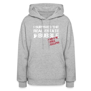 Survived the Bubble Hooded Sweat - Women's Hoodie