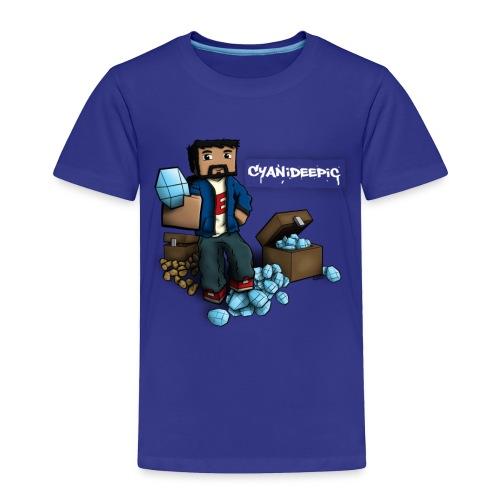 [E] Diamonds & Taters Toddler Shirt - Toddler Premium T-Shirt