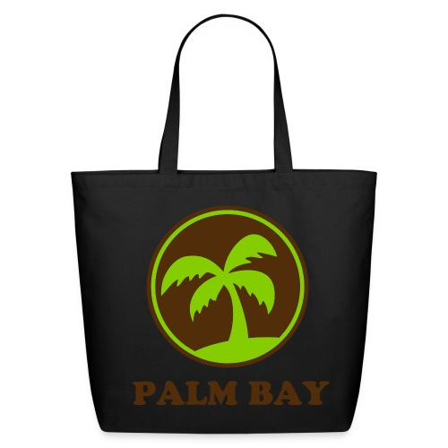 Palm Bay Tote Bag - Eco-Friendly Cotton Tote