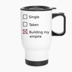 Single Taken Building my empire Bottles & Mugs