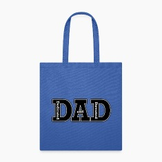 Dedicated and Devoted Dad Bags & backpacks