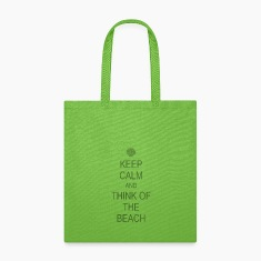 Keep Calm Beach Bags & backpacks