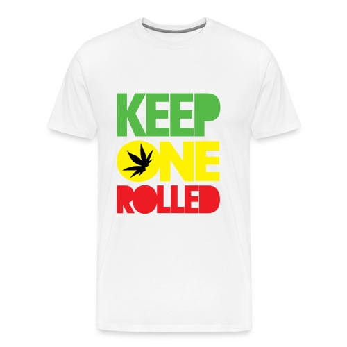 Keep One Rolled (M) - Men's Premium T-Shirt