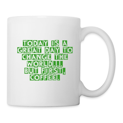 Change The World Map Mug - Coffee/Tea Mug