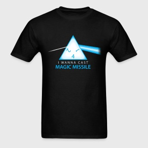 Dungeons & Dragons Pink Floyd d4 Magic Missile - Men's T-Shirt