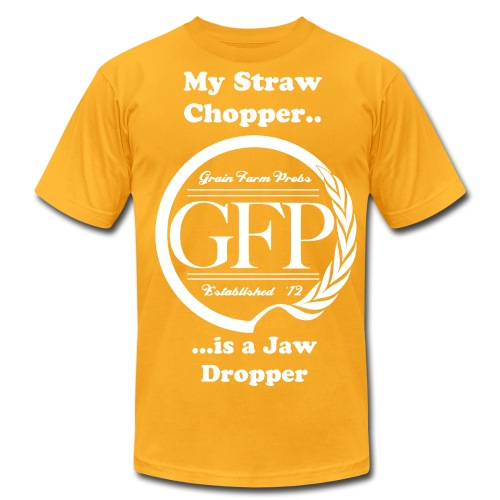 Straw Chopper - Men's Fine Jersey T-Shirt