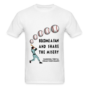 Baseball Fan T-Shirt For Men - Men's T-Shirt