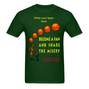 Basketball Fan T-Shirt For Men - Men's T-Shirt
